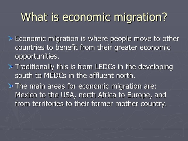 The pros and cons of Migration