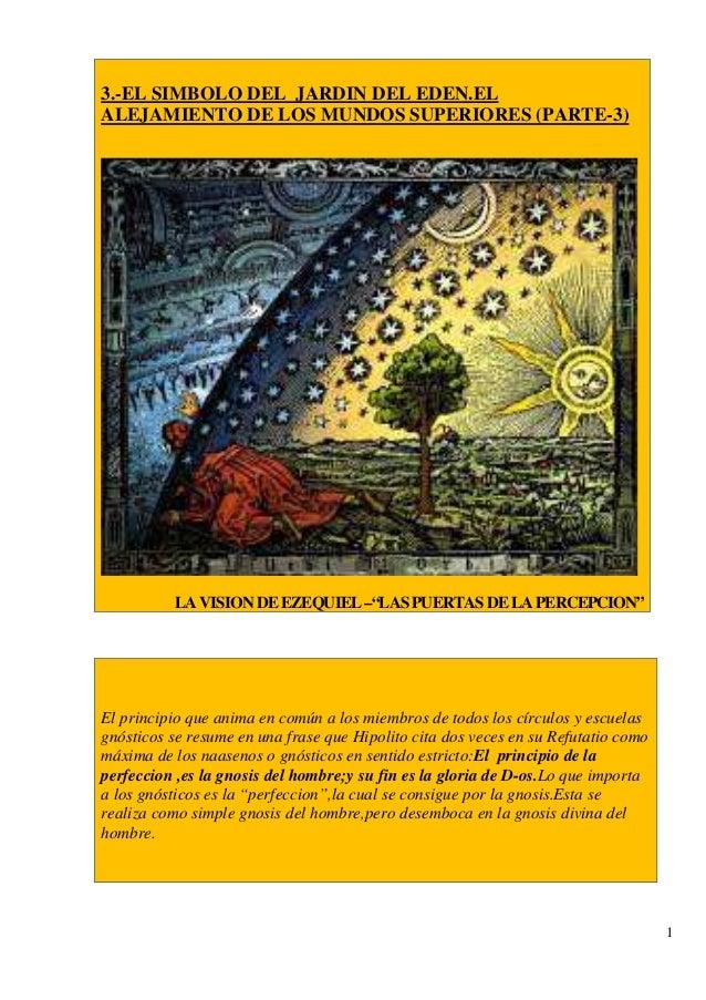 3 el simbolo del jardin del alejamiento de los for Cancion en el jardin del eden