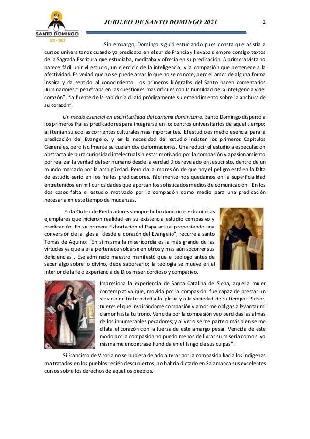 En Palencia: estudio compasivo (Tras los pasos de Santo Domingo de Guzmán Nº 3) Slide 2