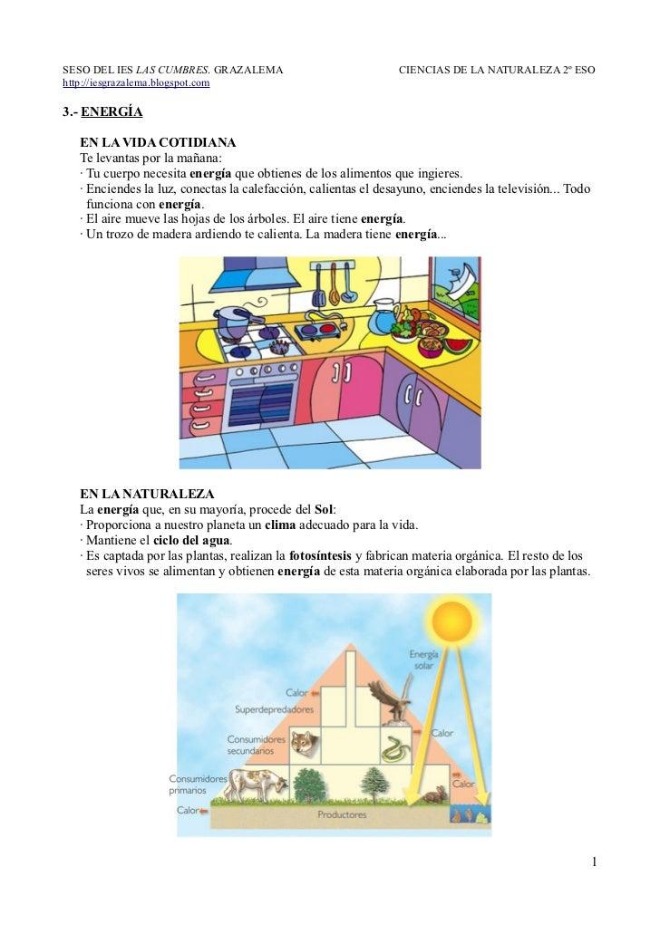 SESO DEL IES LAS CUMBRES. GRAZALEMA                            CIENCIAS DE LA NATURALEZA 2º ESOhttp://iesgrazalema.blogspo...