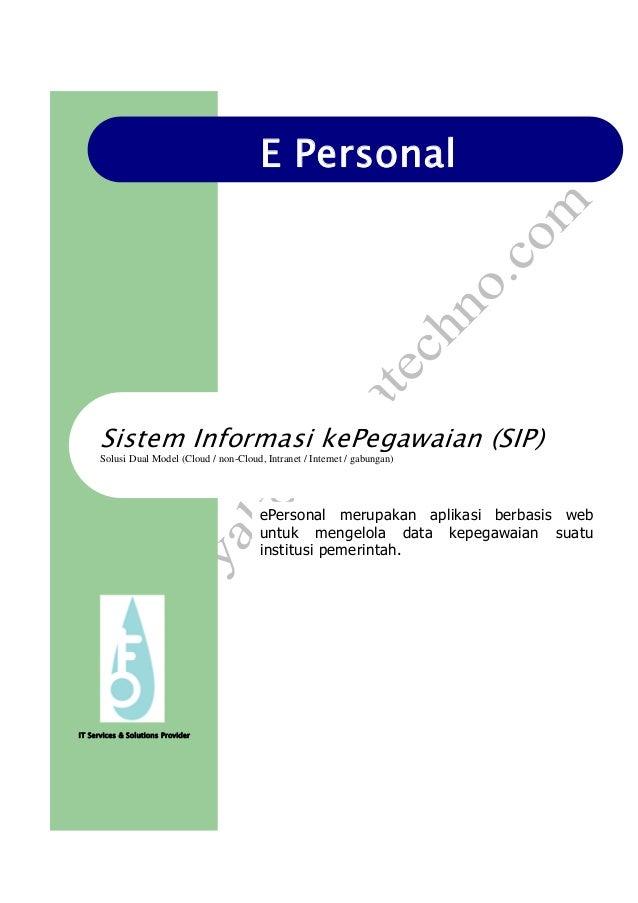 Aplikasi Sistem Informasi Kepegawaian Full Size