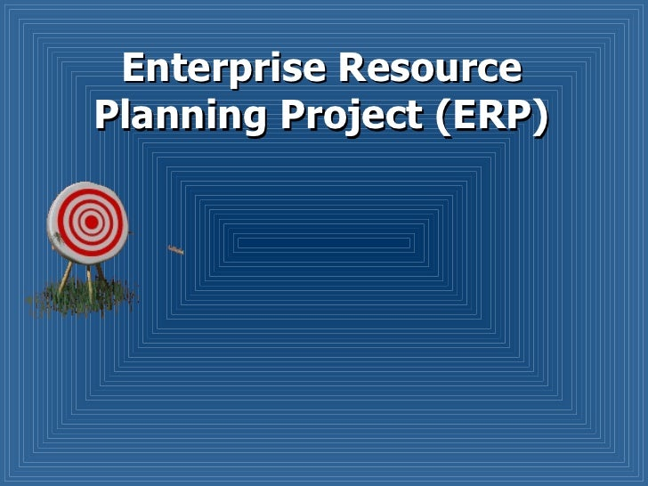 Enterprise Resource Planning Project (ERP)
