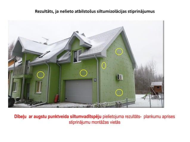 • Latvijas būvnormatīvs LBN 003-015 ''Būvklimatoloģija'' (vēja slodze kg/m2) Vēja slodzes noturība = dībeļu skaits