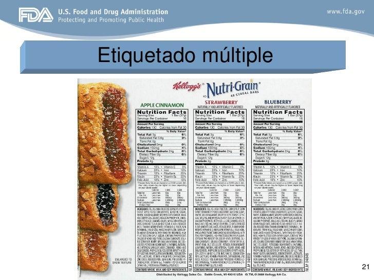 3. etiquetado de alimentos