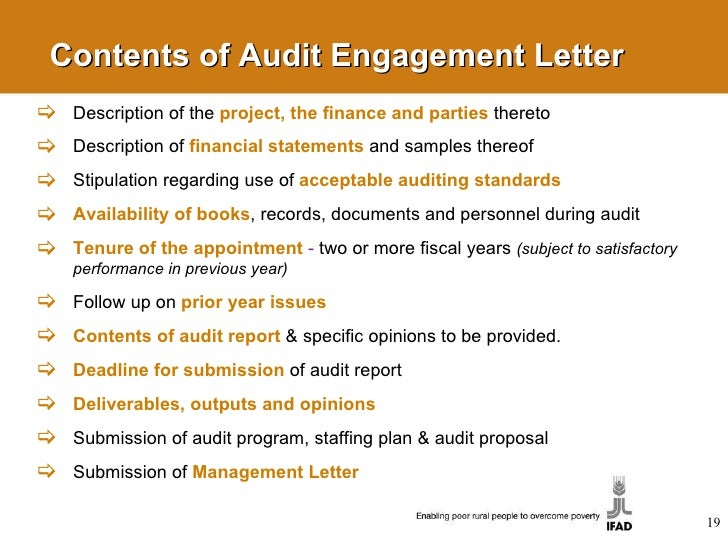 Management Letter Audit Example