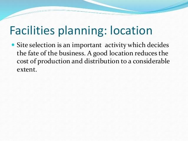 3.facilities planning Slide 2
