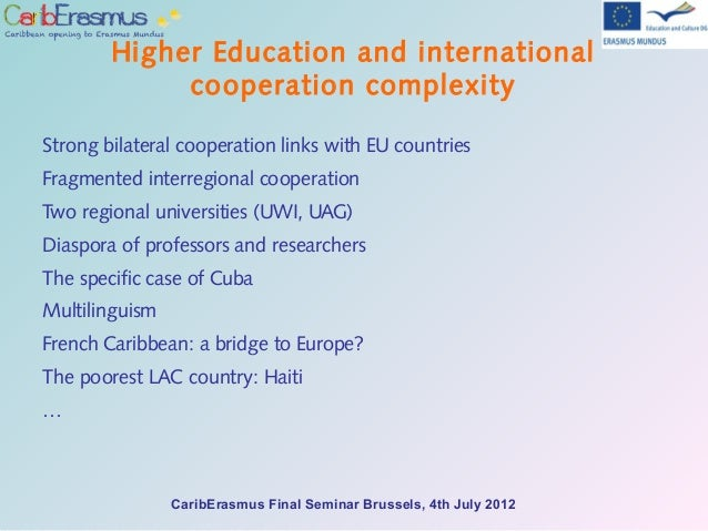 Caribbean Higher Education Seen With European Eyes - Poorest caribbean countries