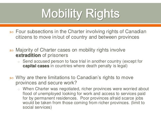 Canadian Fundamental Rights and Freedoms