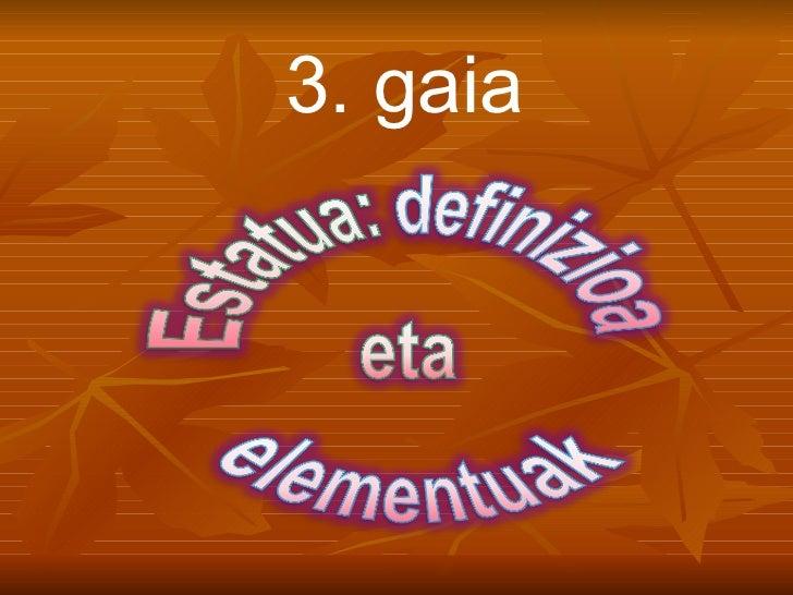 3. gaia