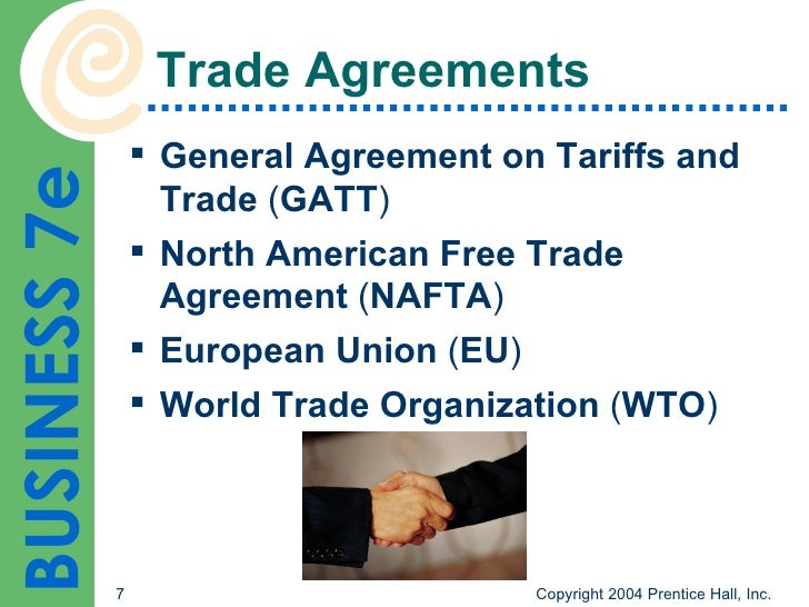 nafta eu wto gatt Outline the basic functions of gatt, wto, nafta, ftaa, cafta-dr, and the european union the general agreement on tariff s and trade is an accord that - 2226625.