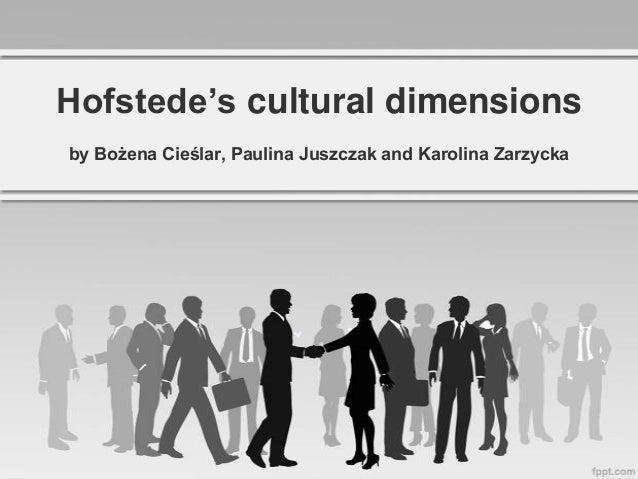 Hofstede's cultural dimensions Slide 2