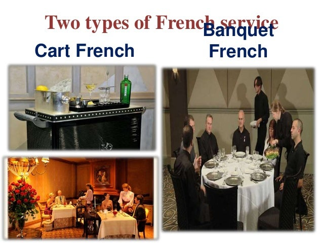 Types Of Service In Restaurant
