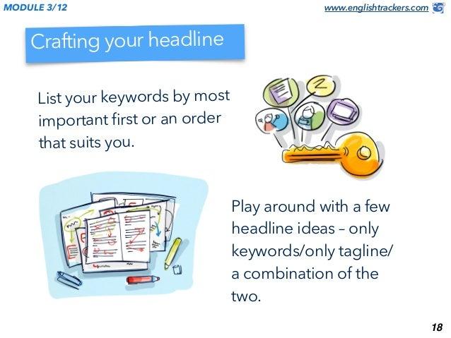 how to change linkedin headline