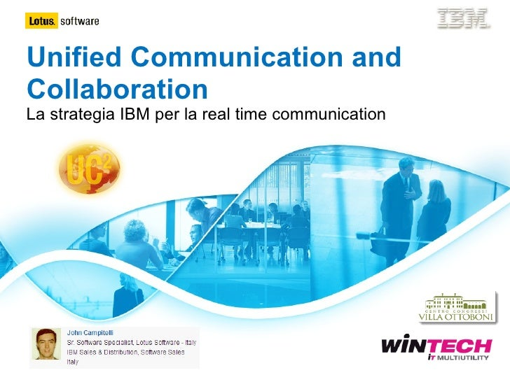 ibm lotus software - unified communications and collaboration - italiano - 2010