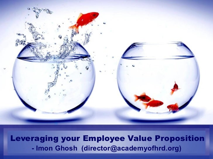 Leveraging your Employee Value Proposition - Imon Ghosh  (director@academyofhrd.org)