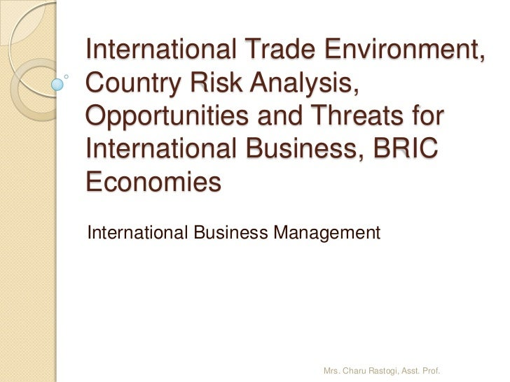 country business analysis i Country analysis involves the examination and interpretation of a nation's economic, social and political environment the analysis offers a comprehensive overview of a country.