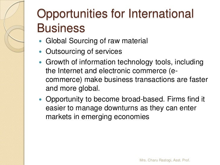 information technology opportunities and threats