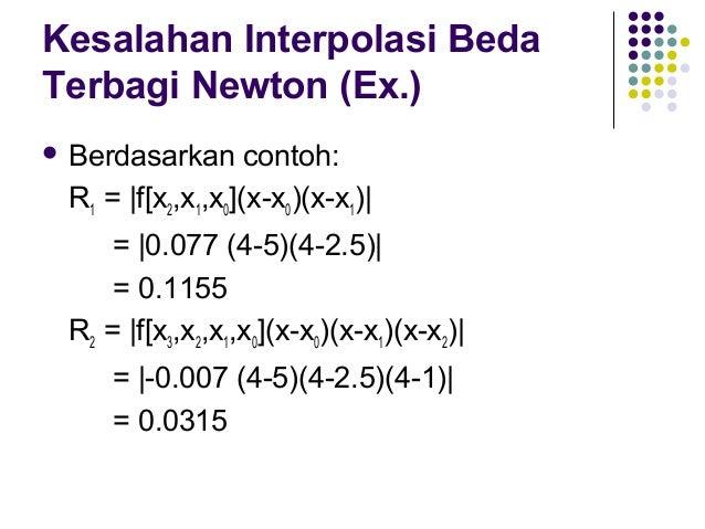 Interpolasi Lagrange  Interpolasi  Lagrange pada dasarnya dilakukan untuk menghindari perhitungan dari differensiasi terb...