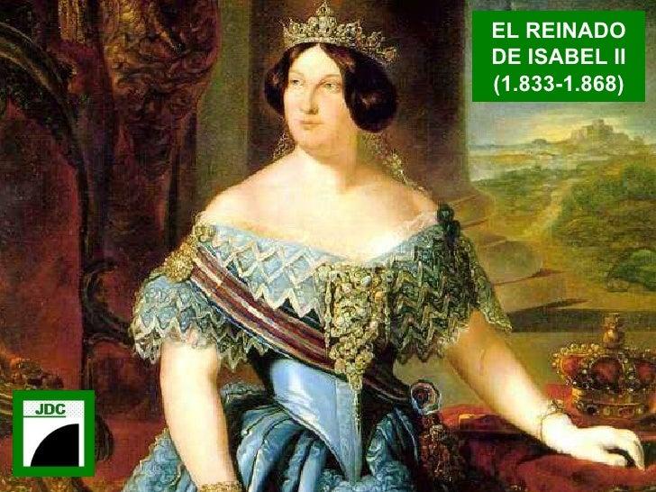 EL REINADO DE ISABEL II (1.833-1.868)