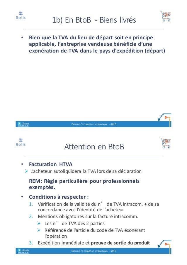 a96f52b129fe00 retis www.retis.be DÉFIS DE L E-COMMERCE INTERNATIONAL – 2016  18.