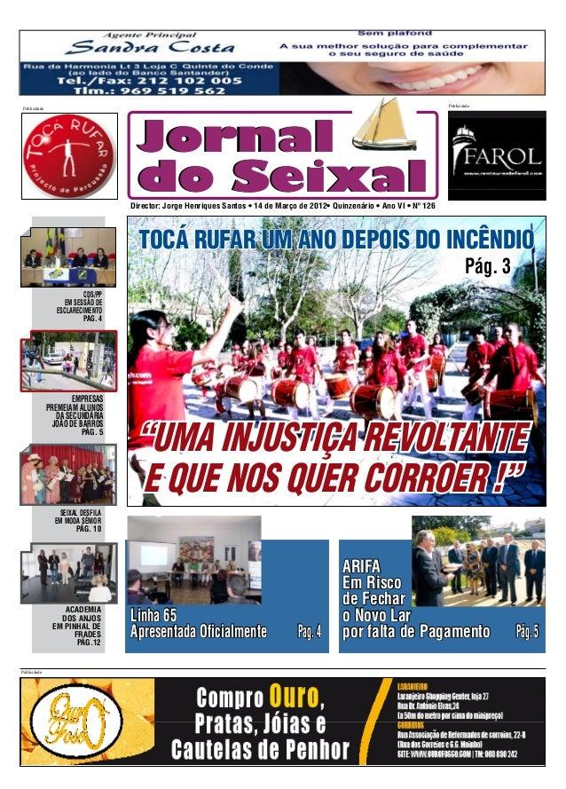 Publicidade Publicidade                                    Jornal                                    do Seixal            ...