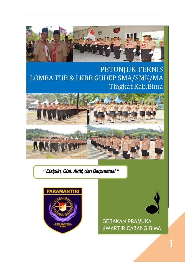 Presented by: mingguyono as                                  PETUNJUK TEKNISLOMBA TUB & LKBB GUDEP SMA/SMK/MA             ...