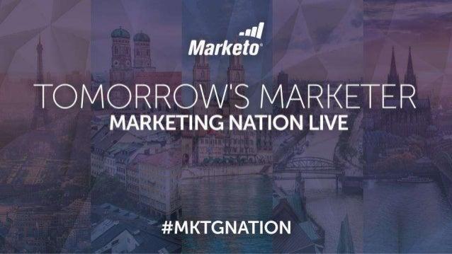 KEYNOTE: Tomorrow's Marketer-French