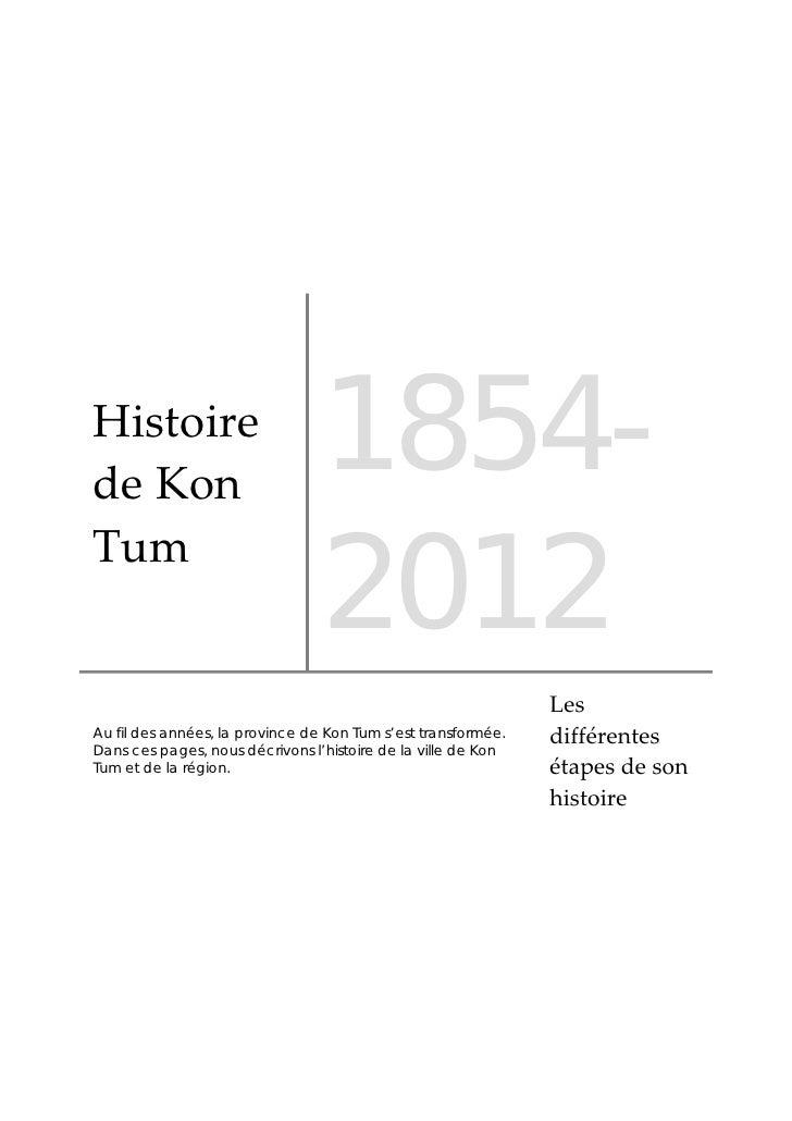 HistoiredeKon                                 1854-                                 2012Tum                          ...