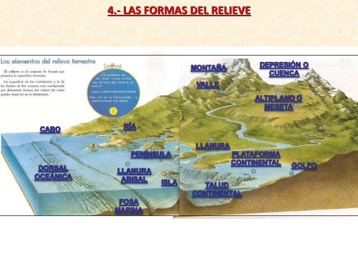 4.- LAS FORMAS DEL RELIEVE