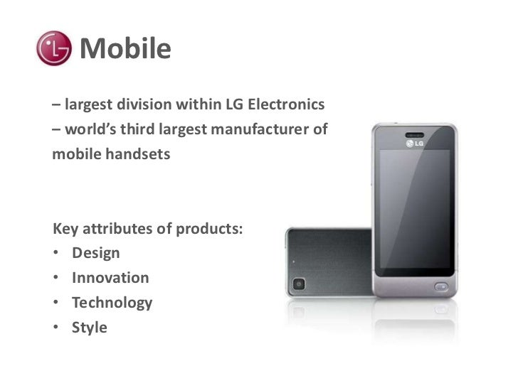 lg electronics mobile communication division It consists of a wireless communications module and a free smart phone app lg mobile switch (sender) lg lg electronics.