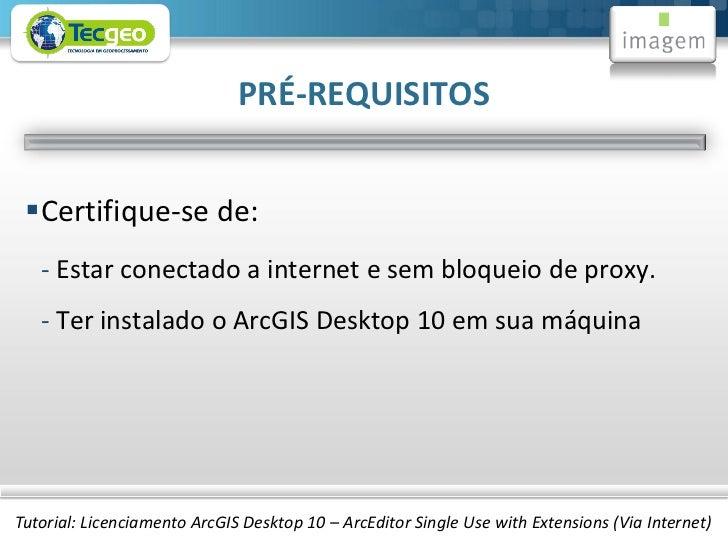 3 Licenciamento Arcgis Desktop 10 Arceditor