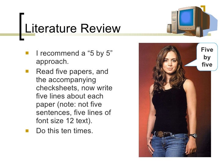 literature review drafts 2015-9-2 give yourself time for multiple drafts  diepenbrock, c writing a successful literature review powerpoint university of houston-clear lake.