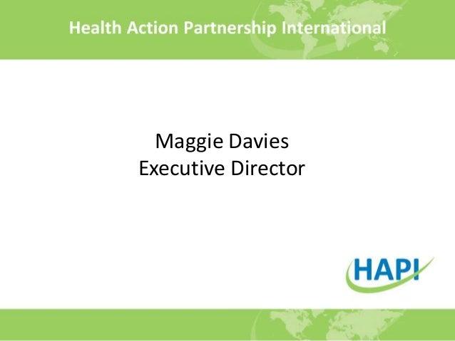 Maggie DaviesExecutive Director