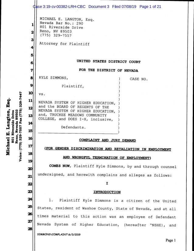 Case 3:19-cv-00382-LRH-CBC Document 3 Filed 07/08/19 Page 1 of 21