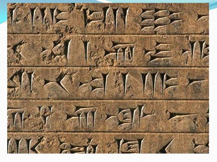 Estas cuatro culturas, caracterizadas por el empleo de un lenguaje escrito (cuneiforme) que se ha conservado hasta nuestro...