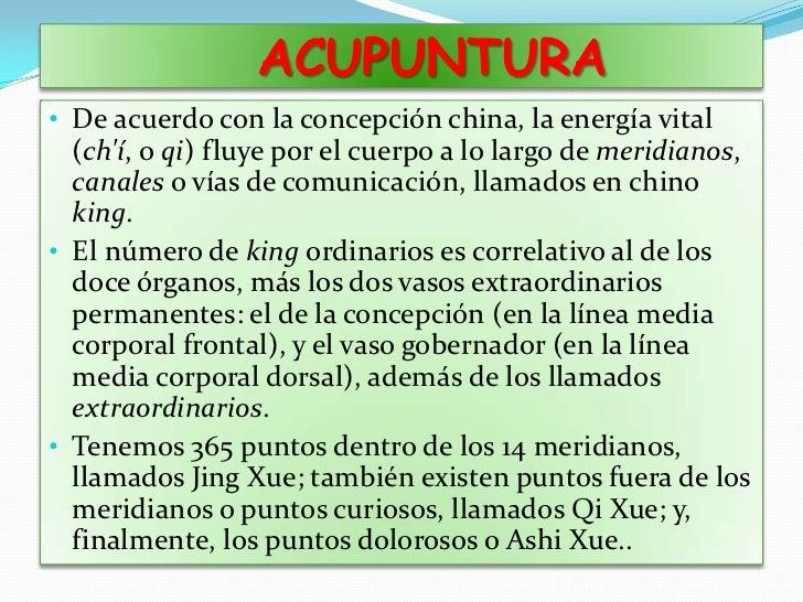 MEDICINA TRADICIONAL CHINA<br /><ul><li>Medicina teórico-especulativa de gran antigüedad. Incluye observaciones empíricas ...
