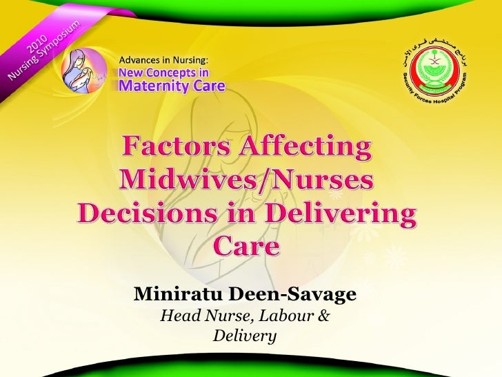 Miniratu Deen-Savage Head Nurse, Labour & Delivery