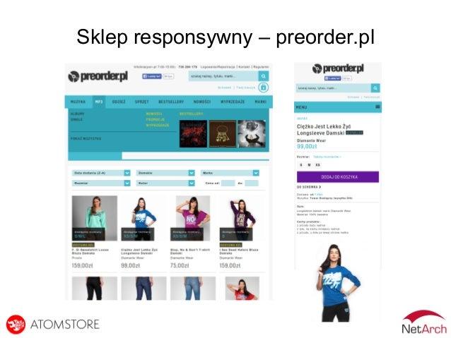 Sklep responsywny – preorder.pl