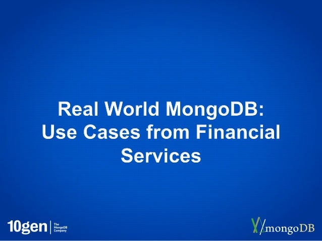 3• Introduction• We feel your pain• Traditional Solutions not working• What are your peers doing?• How MongoDB has helped ...