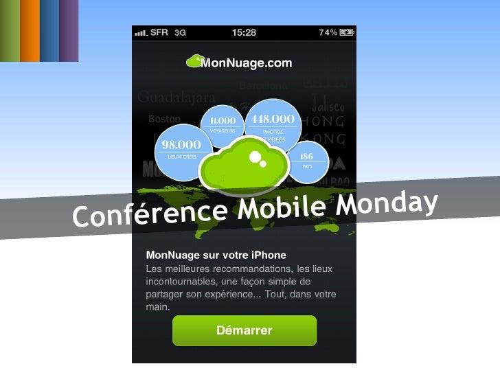 Conféren ce Mobile Monday