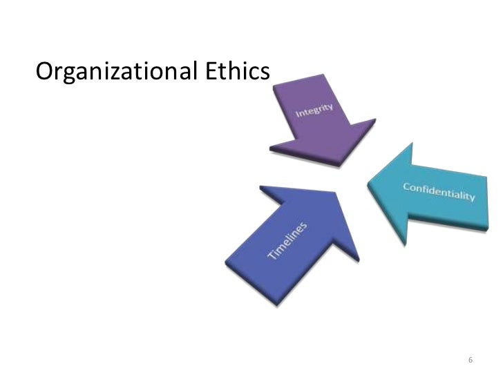 ethics organization Ethics in organizations marvin brown from debates over drug-testing to analyses of scandals on wall street, attention to ethics in business organizations has never been greater yet, much of the attention given to ethics in the workplace overlooks some critical aspects of organizational ethics.