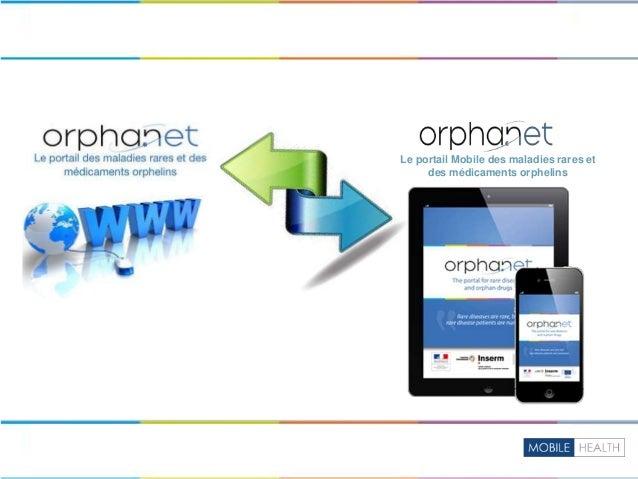 Le portail Mobile des maladies rares et des médicaments orphelins