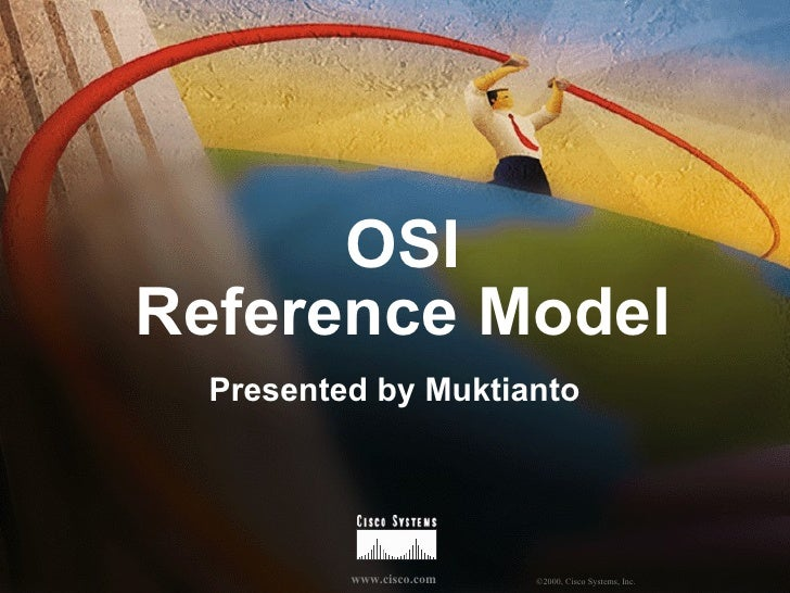 OSI Reference Model Presented by Muktianto