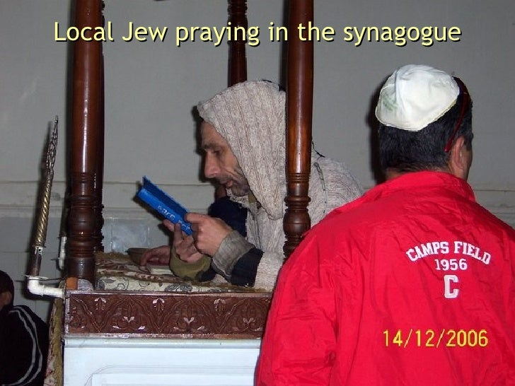 Local Jew praying in the synagogue
