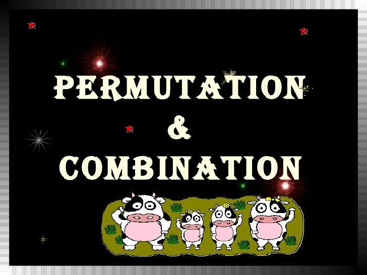 3  permutation and combination