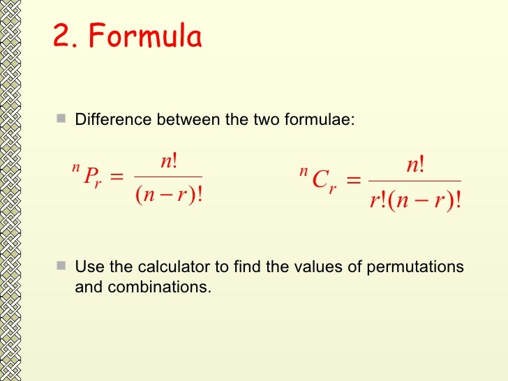 what is the relationship between permutation and combination