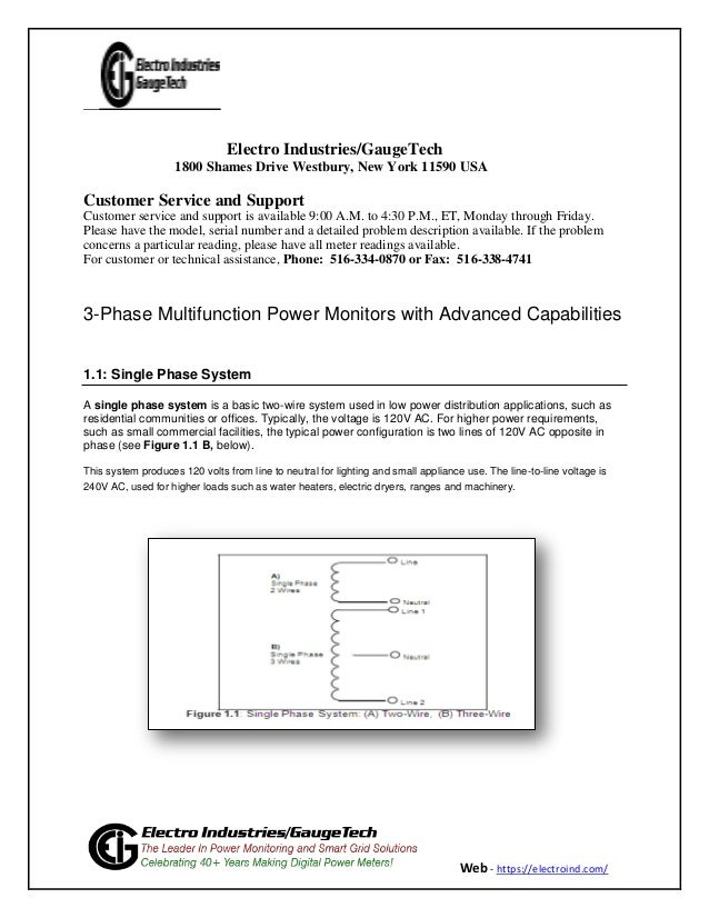 3-Phase Multifunction Power Monitors with Advanced Capabilities