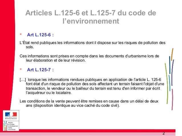 GREEN DATA 15 janv 2013 - BODENEZ - DG prévention des risques  Slide 2