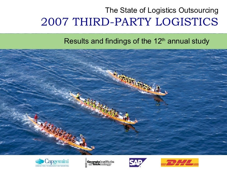 Results and findings of the 12 th  annual study   The State of Logistics Outsourcing 2007 THIRD-PARTY LOGISTICS