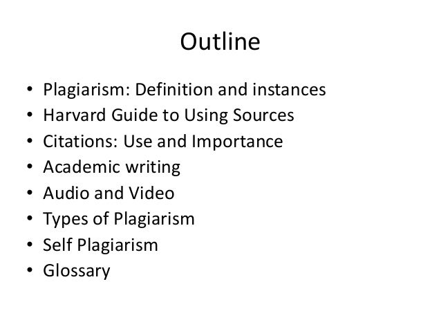 defining plagiarism Both defining and recognizing plagiarism has become more difficult with the   plagiarism spectrum: instructor insights into the 10 types of plagiarism2012).